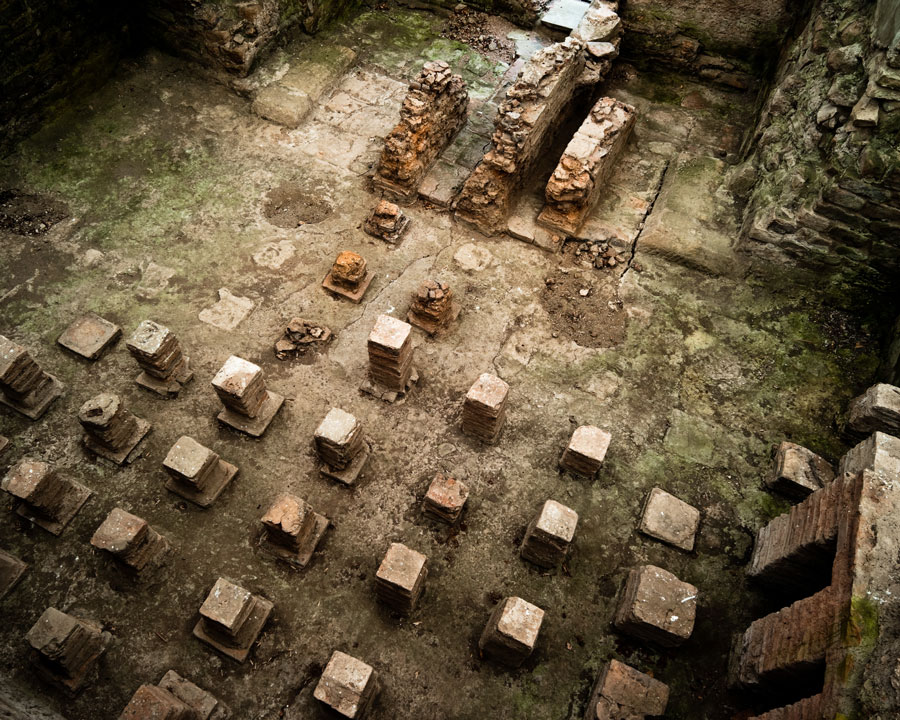 Binchester hypocaust