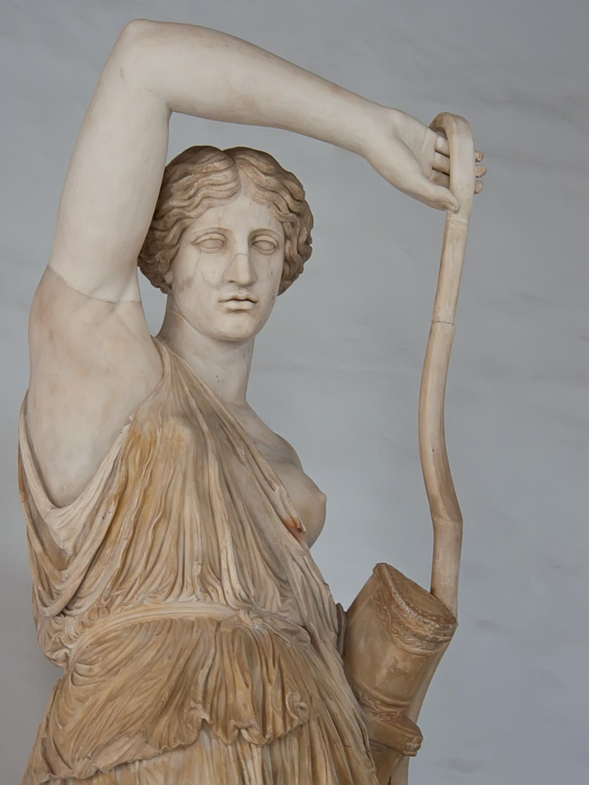 Marble statue of a wounded amazon essay
