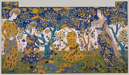 Persian Paradise Gardens Eden And Beyond As Chahar Bagh Electrum Magazine