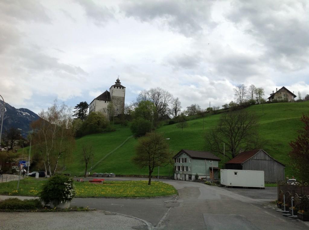 The Rhine Castles Of Werdenberg Vaduz And Schattenburg Rudyk