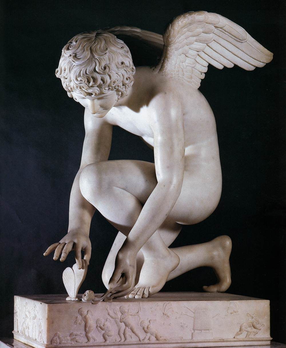 Antoine-Denis Chaudet, Cupid, 1802, Louvre Museum (Photo in pubic domain)