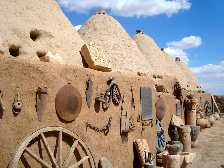 Harran's kumbet house cluster (Photo Aigerim Korzhumbayeva, 2011)