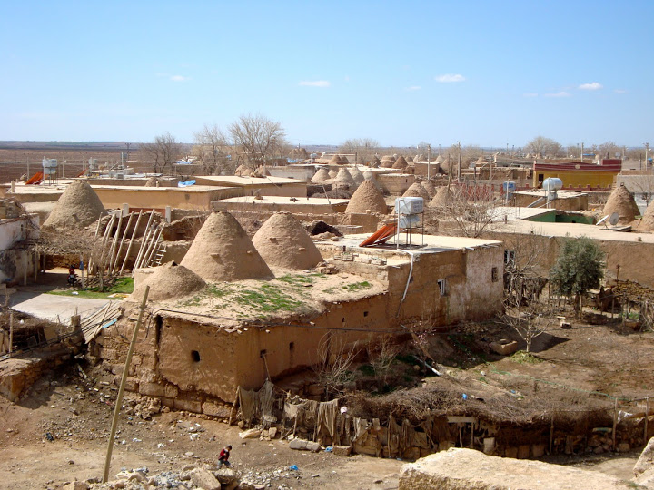 New Harran village with kumbet clusters and other houses (Photo Aigerim Korzhumbayeva, 2011)