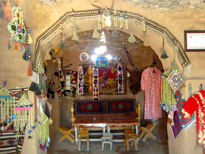 Interior of Harran village active kumbet house (Photo Aigerim Korzhumbayeva, 2011)