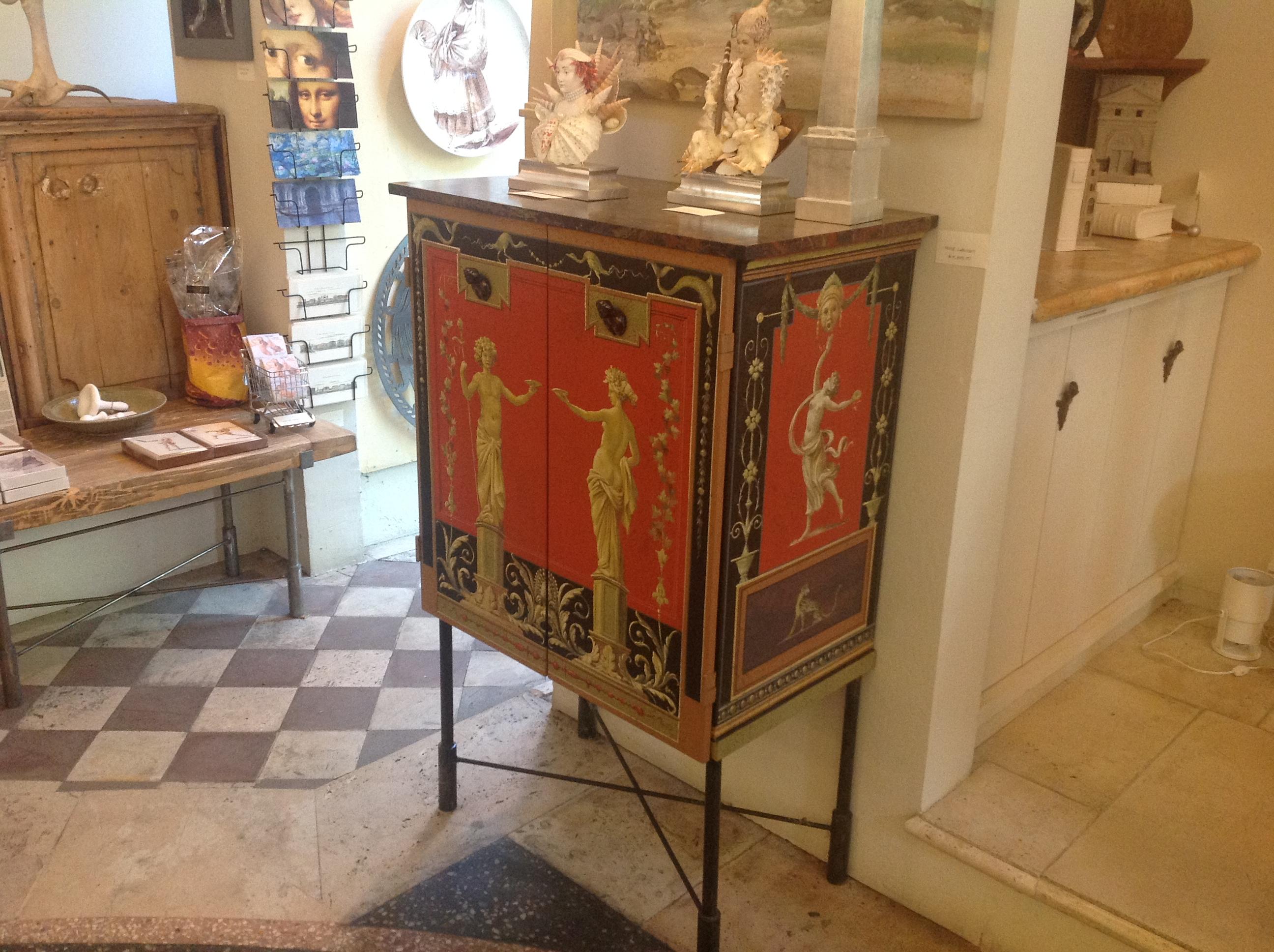Pompeian Style Cabinet Cupboard, Carlo Marchiori (Photo P. F. Sommerfeldt, 2012)