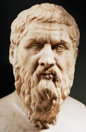 Plato, Classical bust (Image in public domain)