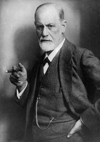 Sigmund Freud, 1921 (Photo in public domain)