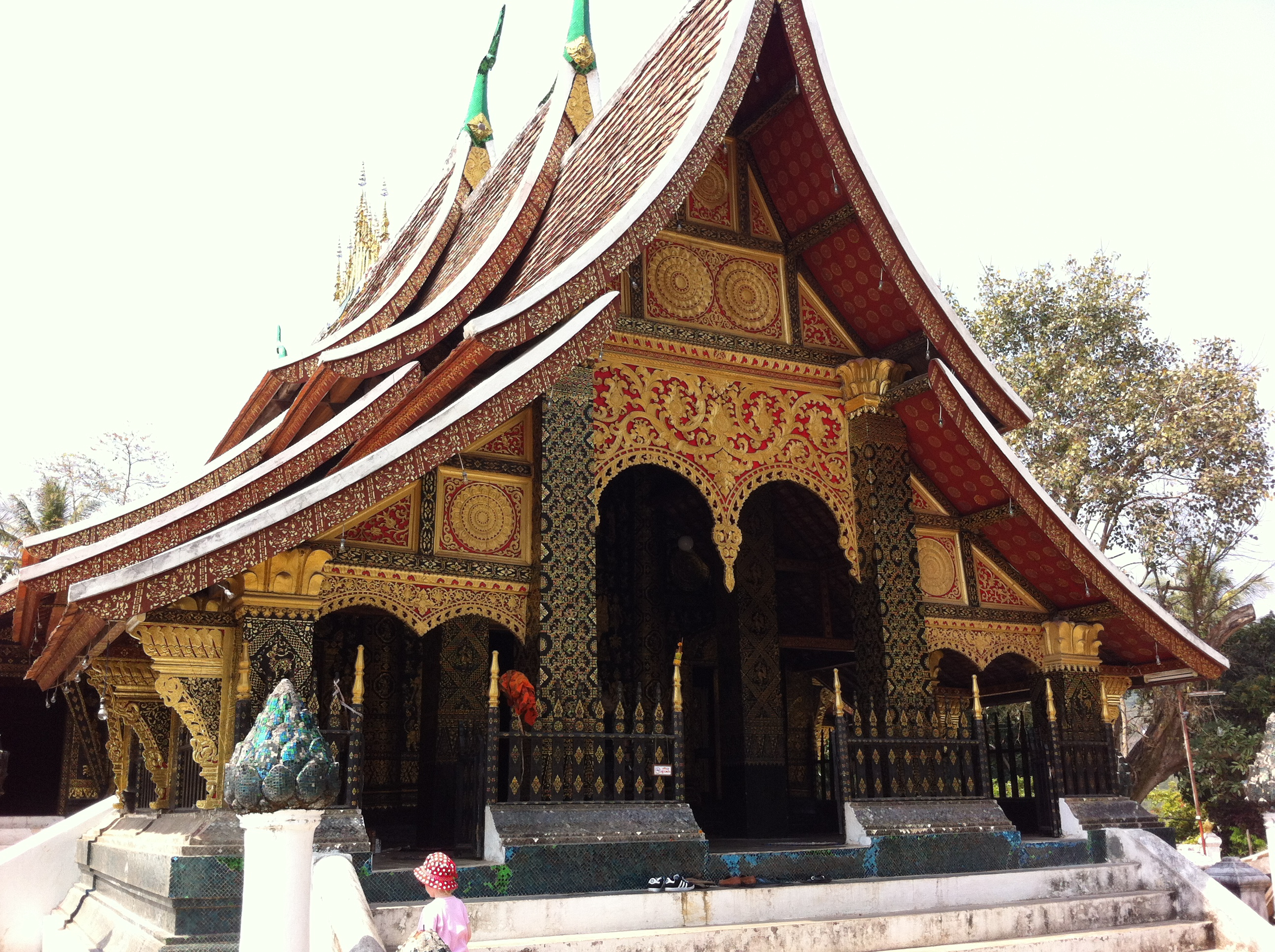 Wat Xieng Thong, or the Golden Temple, Luang Prabang (photo Catherine Clover, 2013)