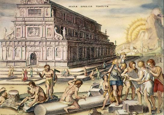 Heemskerck's 1572 Templum Dianae