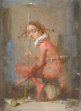 Vachagan Narazyan, The Joker, originally Meyer East Gallery, Santa Fe