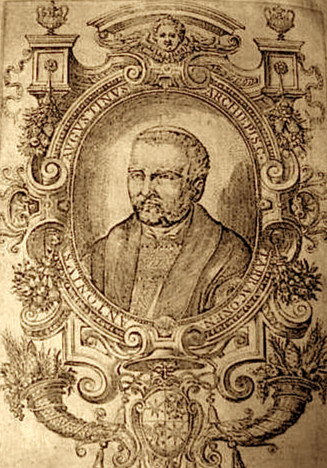 Portrait Engraving of Archbishop Antonio Agustin (Courtesy of A. Galdy)