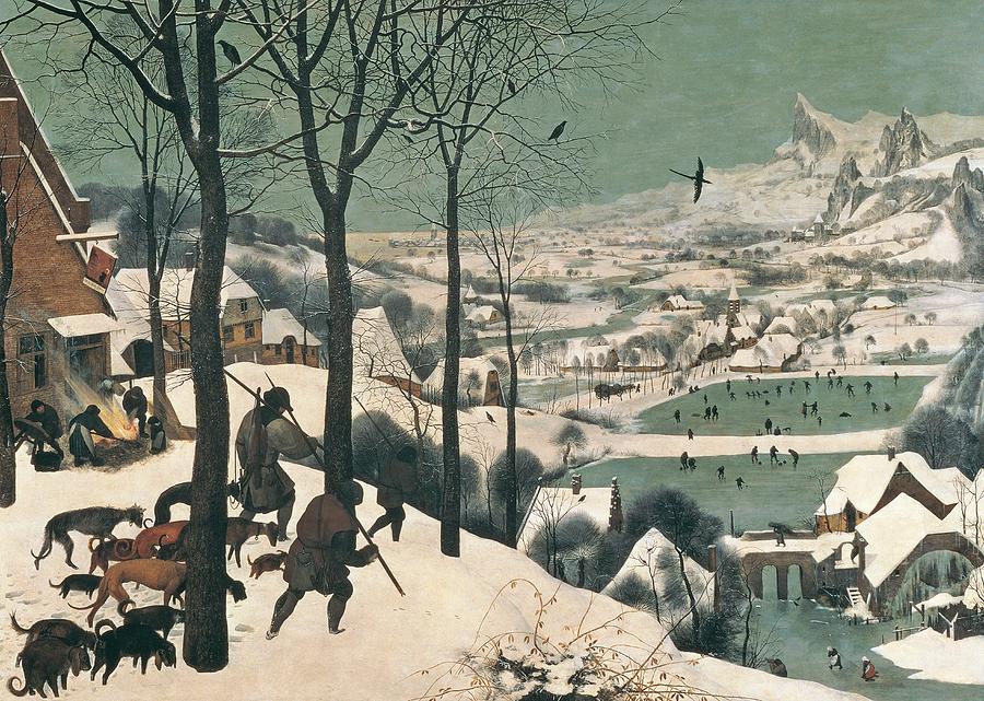 John Berryman hunters in the snow