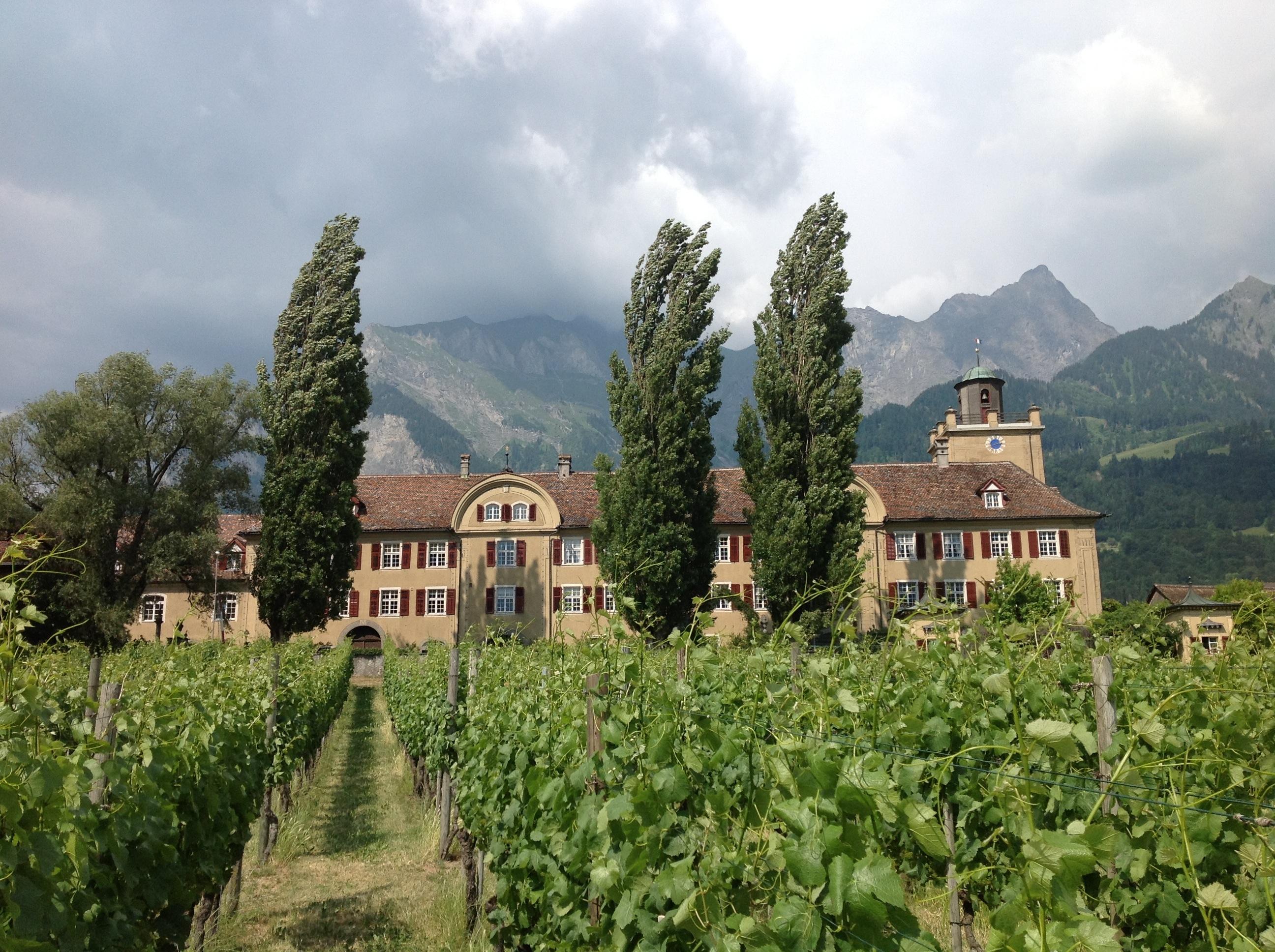 Schloss Salenegg in Maisfeld, Bündner Herrschaft (Photo P. Hunt 2014)