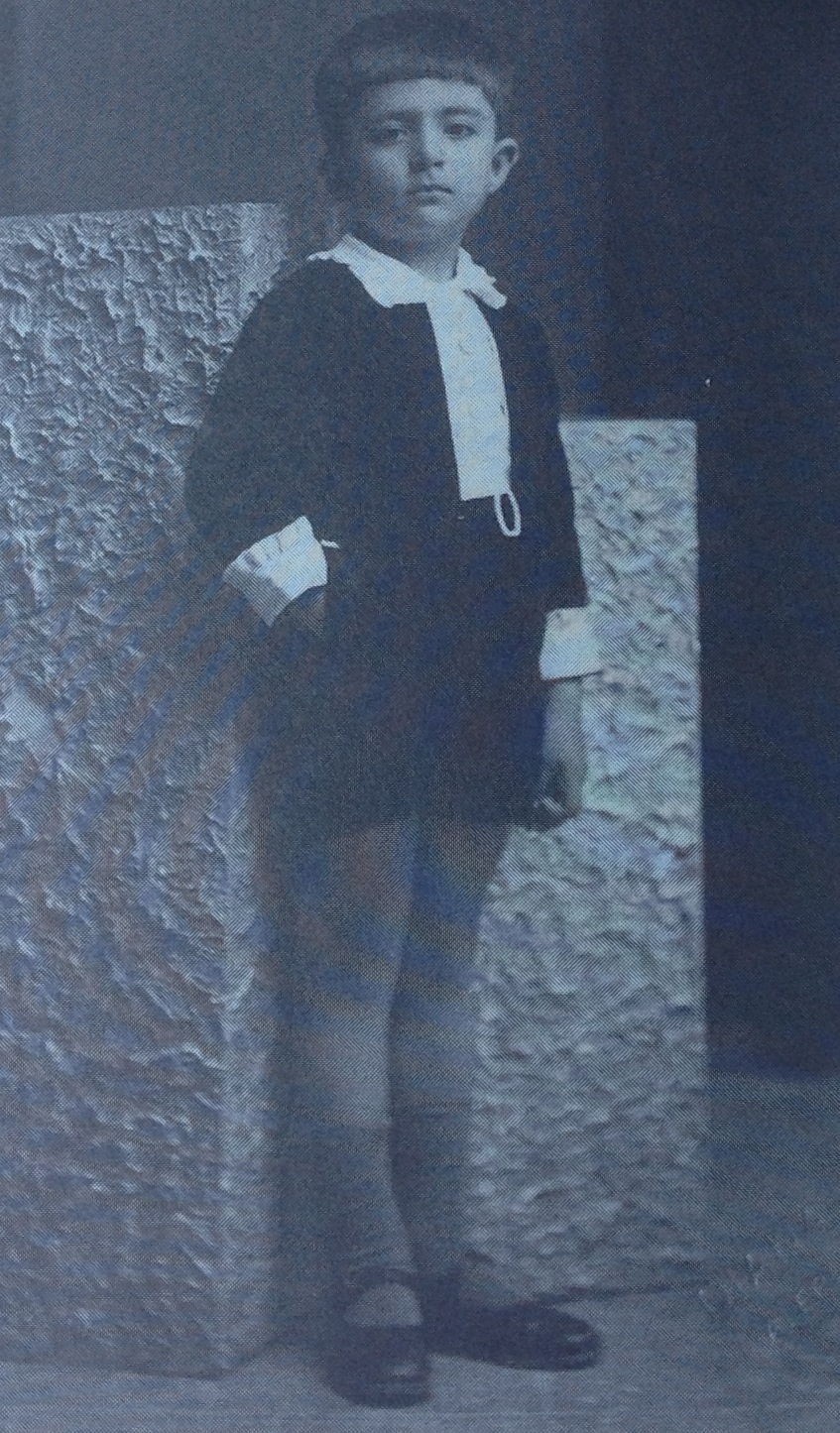 The author as a young boy in Beirut