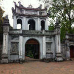 The Great Portico at the Temple of Literature, c. 18th century (Photo Catherine Clover, 2014)