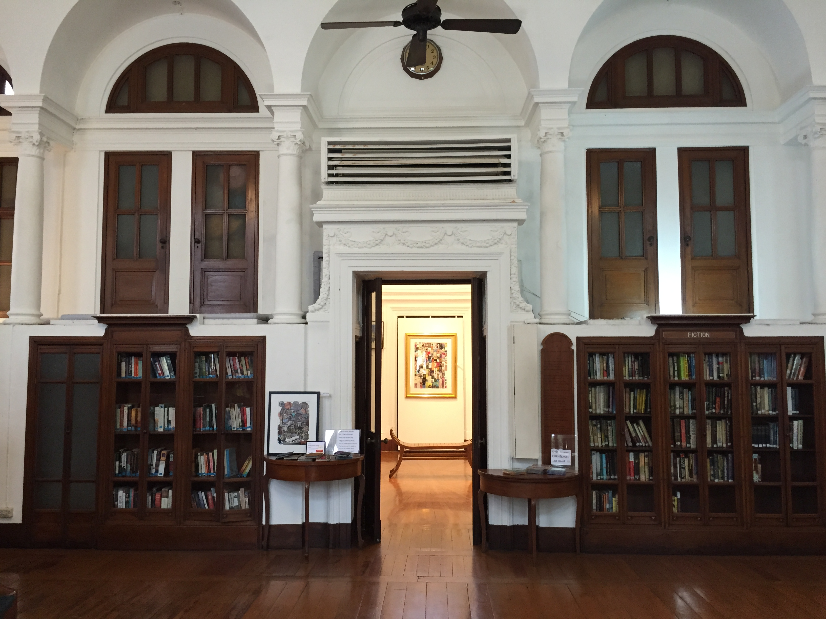 Neilson Hays Library Interior with Rotunda (Photo Catherine Clover, 2015)