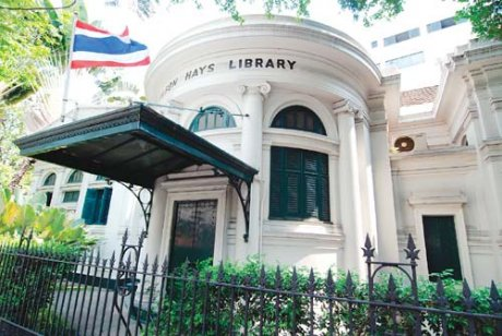 Neilson Hays Memorial Library Bangkok (Photo courtesy of the library)
