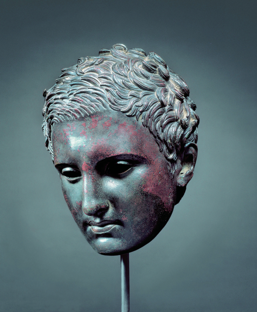 Hellenistic or Roman, probably after Lysippos (Greek, c. 365-c. 310 B.C.). Kimbell Art Museum, Fort Worth (courtesy of Florence Exhibition)
