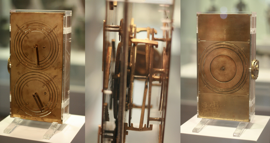 Possible Reconstruction of Antikythera Mechanism (photo courtesy of Andrew Barclay)