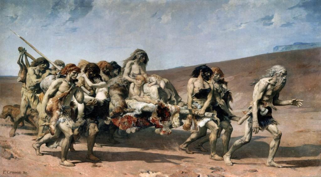 Fernand Cormon, Cain, 1880, 400 x 700 cm, Musée d'Orsay, Paris