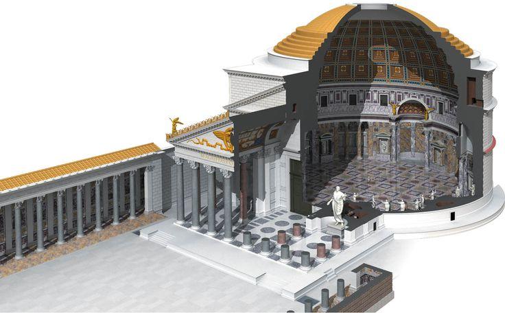 Pantheon cutaway